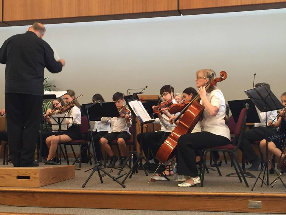 Cello and Violin III section