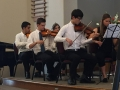 Violin 1 section